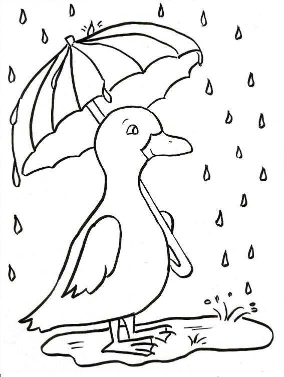 Raincoat Drawing At Getdrawings Com