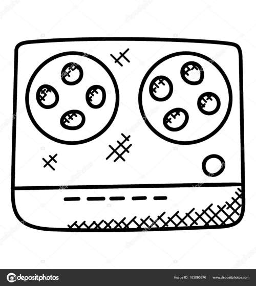 small resolution of 1520x1700 simple hand drawn tape recorder which playing cassettes recording