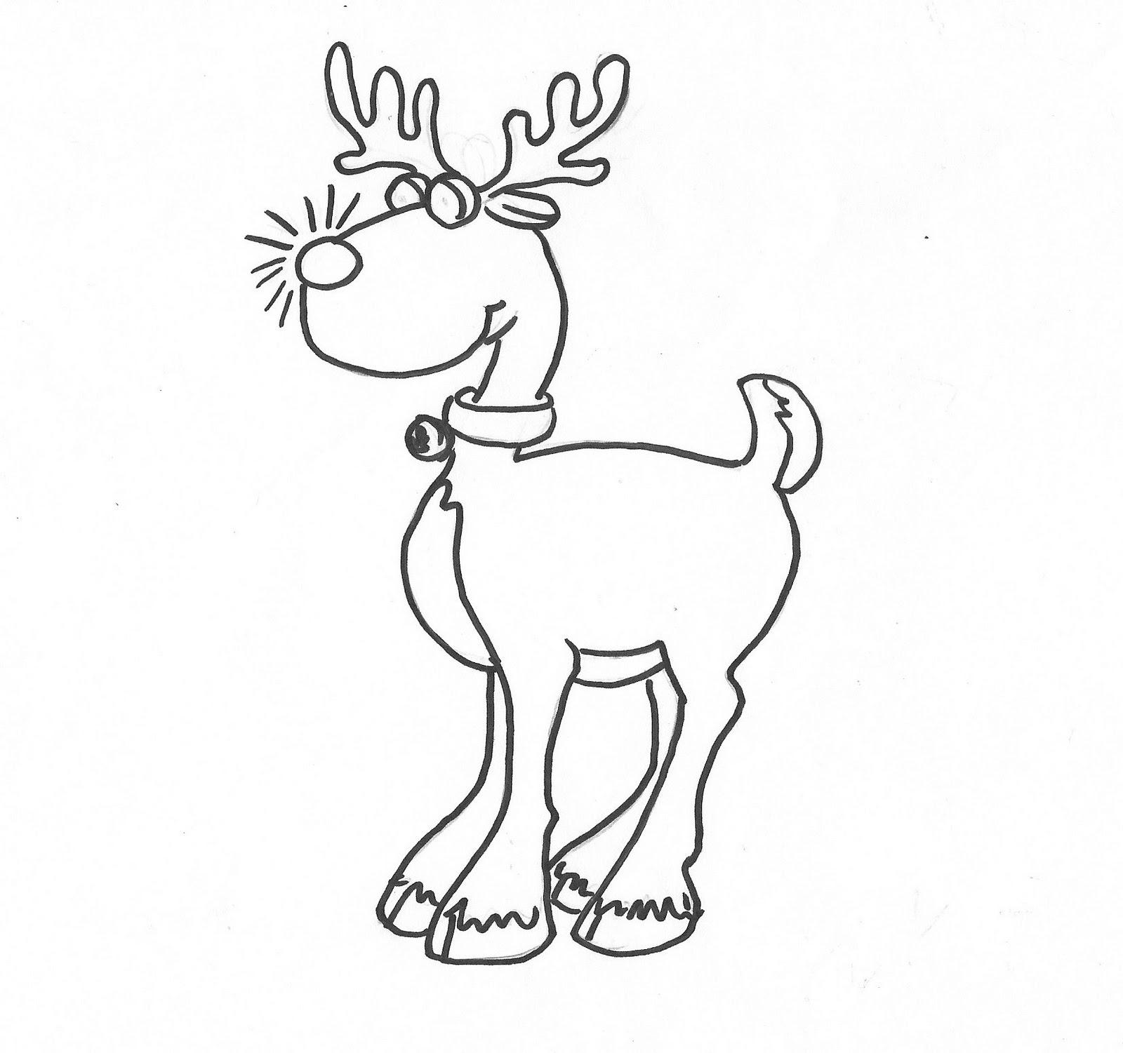 Reindeer Antlers Drawing At Getdrawings