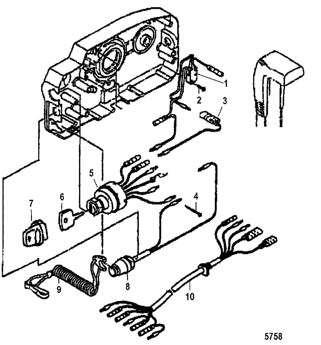 Hp 2 Cylinder Mercury Outboard Control Wiring Diagram