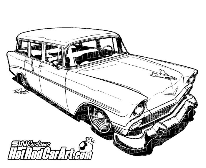 The best free Chevrolet drawing images. Download from 399