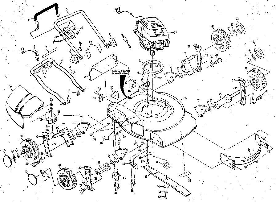 Wiring Diagram Database: Rally Lawn Mower Parts Diagram