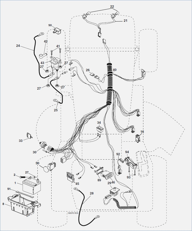 john deere d140 lawn tractor wiring diagram 1999 ford f150 ignition riding mower drawing at getdrawings.com | free for personal use ...