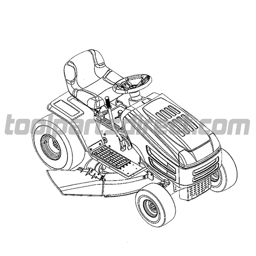 john deere d140 lawn tractor wiring diagram ao smith motor parts riding mower drawing at getdrawings.com | free for personal use ...