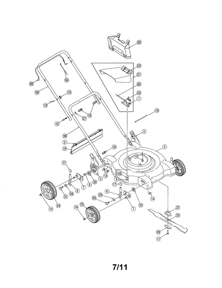 mtd push mower engine manual