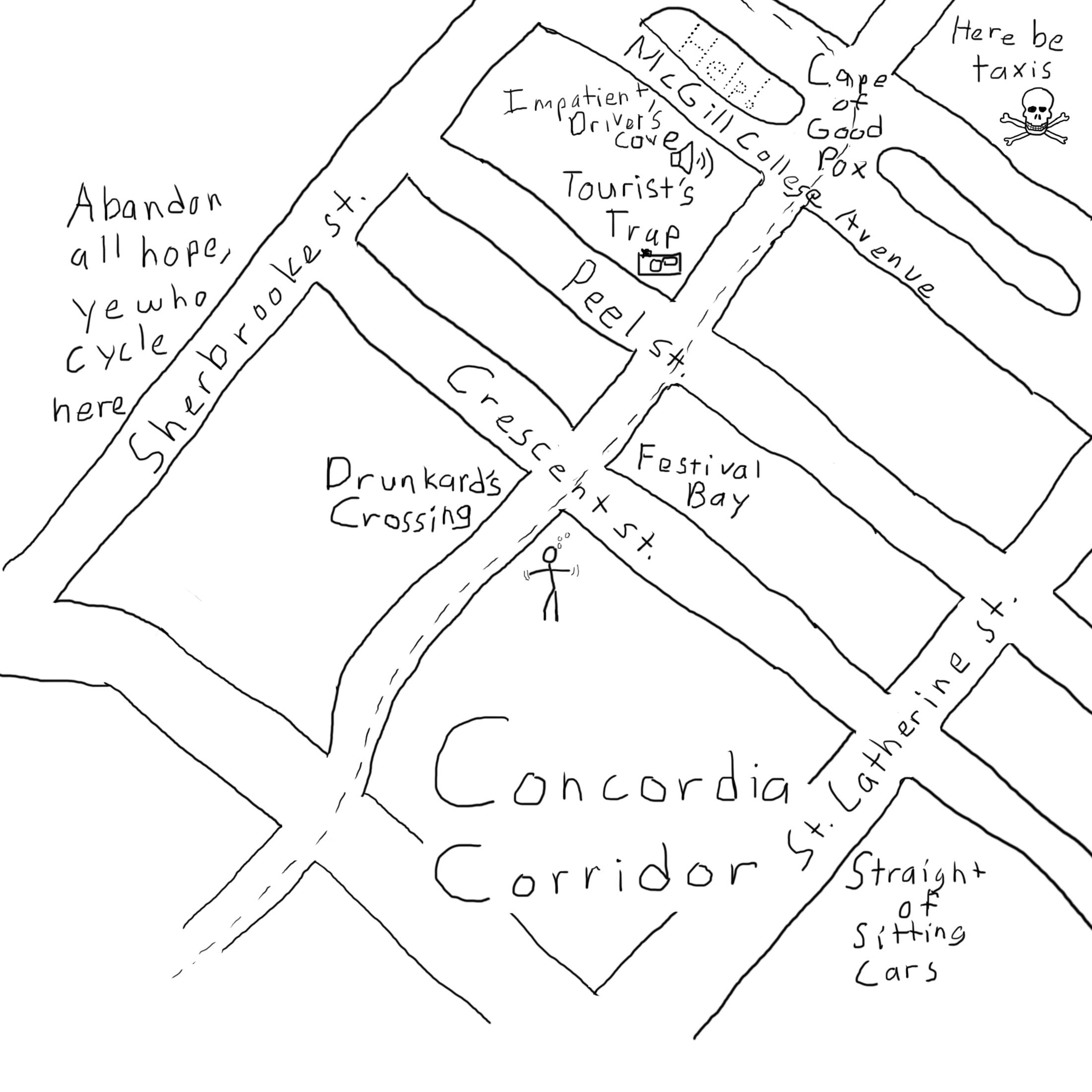 Road Map Drawing At Getdrawings
