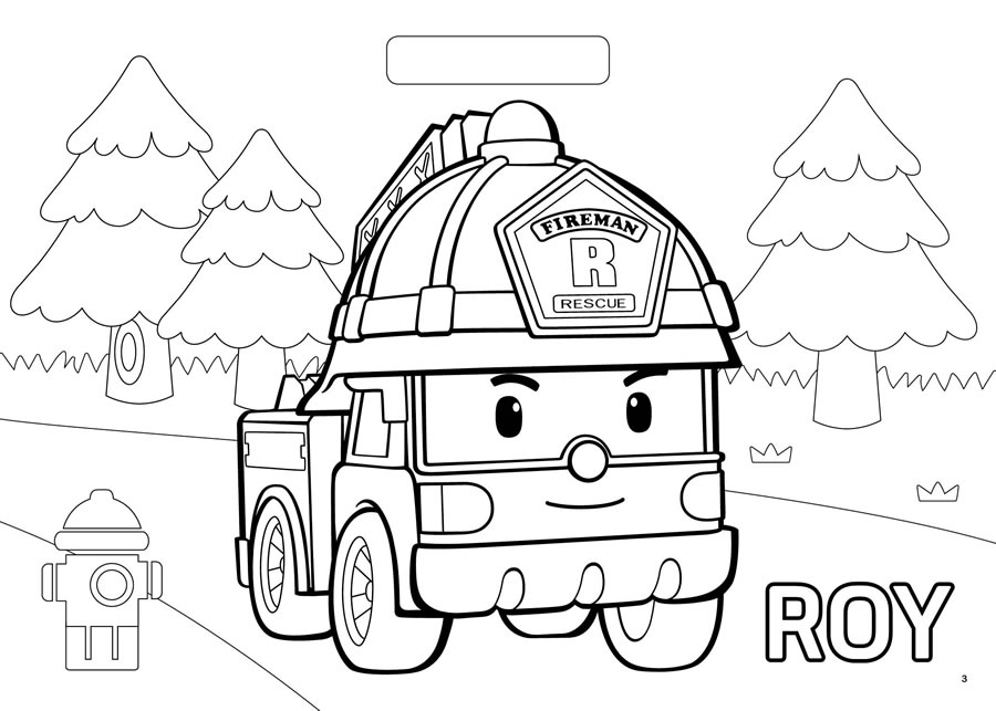 Learn How To Draw Amber From Robocar Poli Robocar Poli