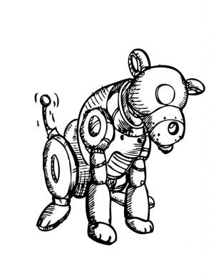 robot drawing simple easy clipartmag getdrawings