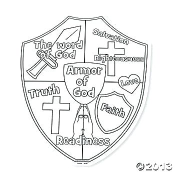 Roman Shield Coloring Coloring Pages
