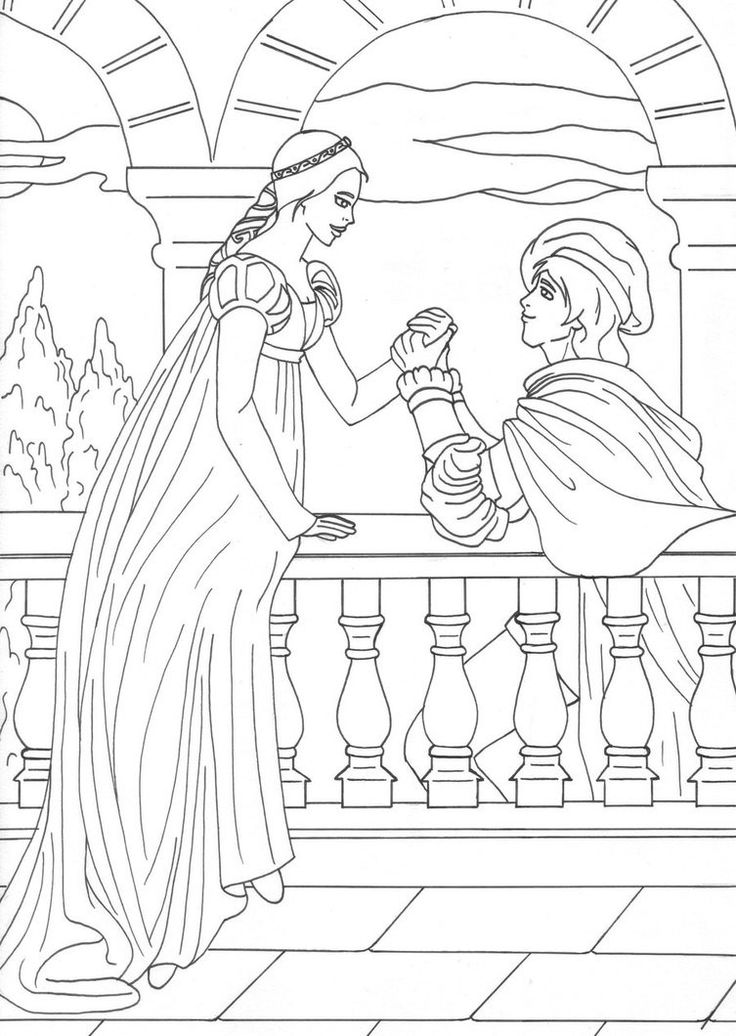 Romeo And Juliet Balcony Scene Drawing at GetDrawings.com