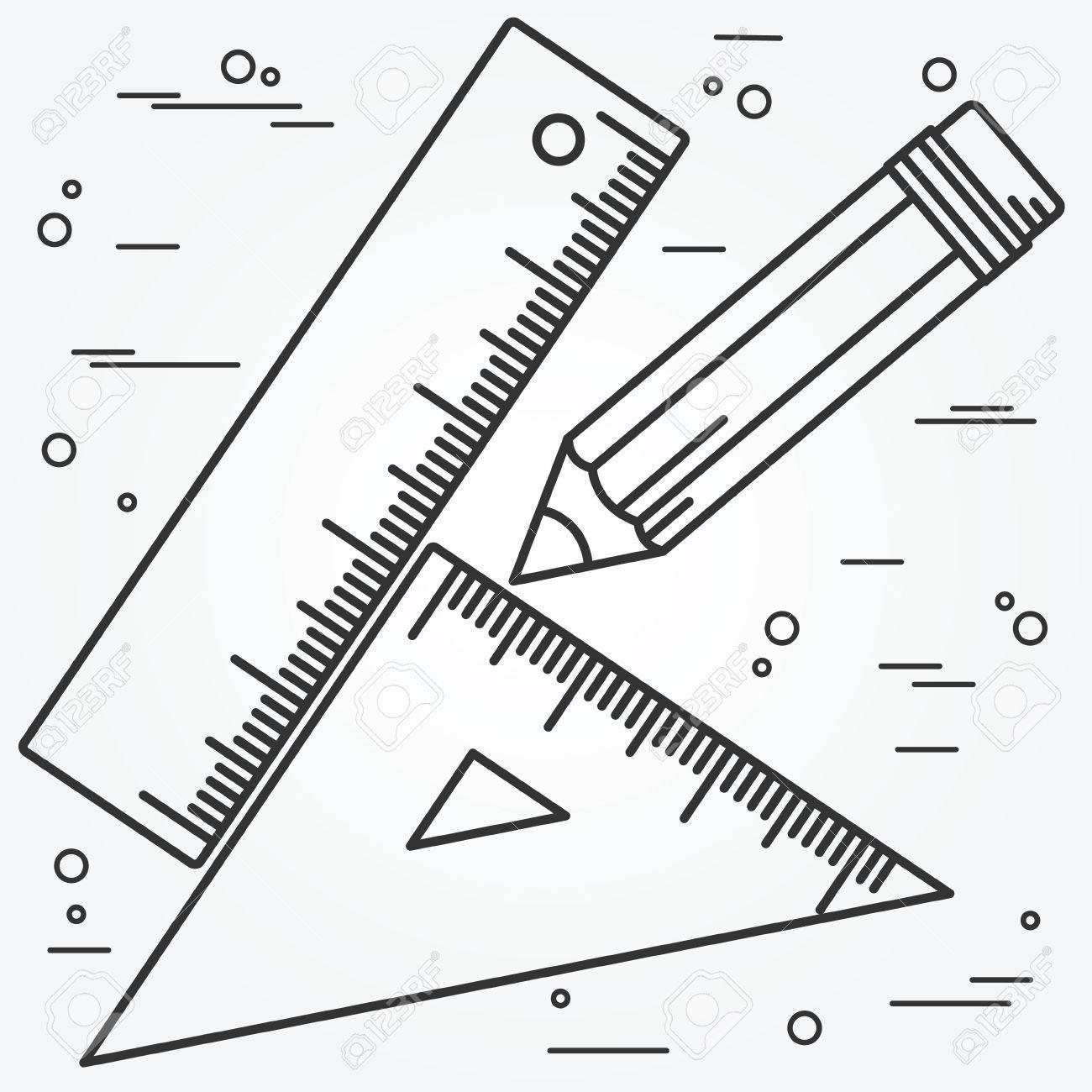 Ruler Drawing At Getdrawings