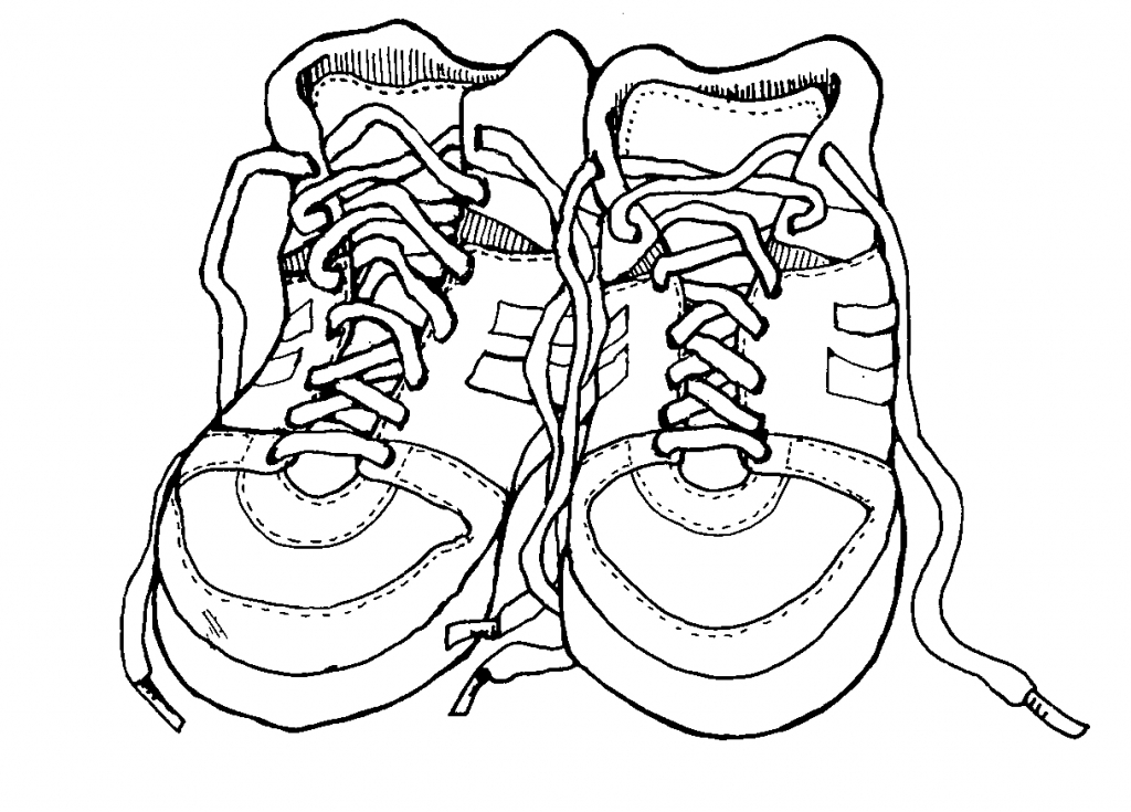 Nike Shoe Drawing At Getdrawings Com