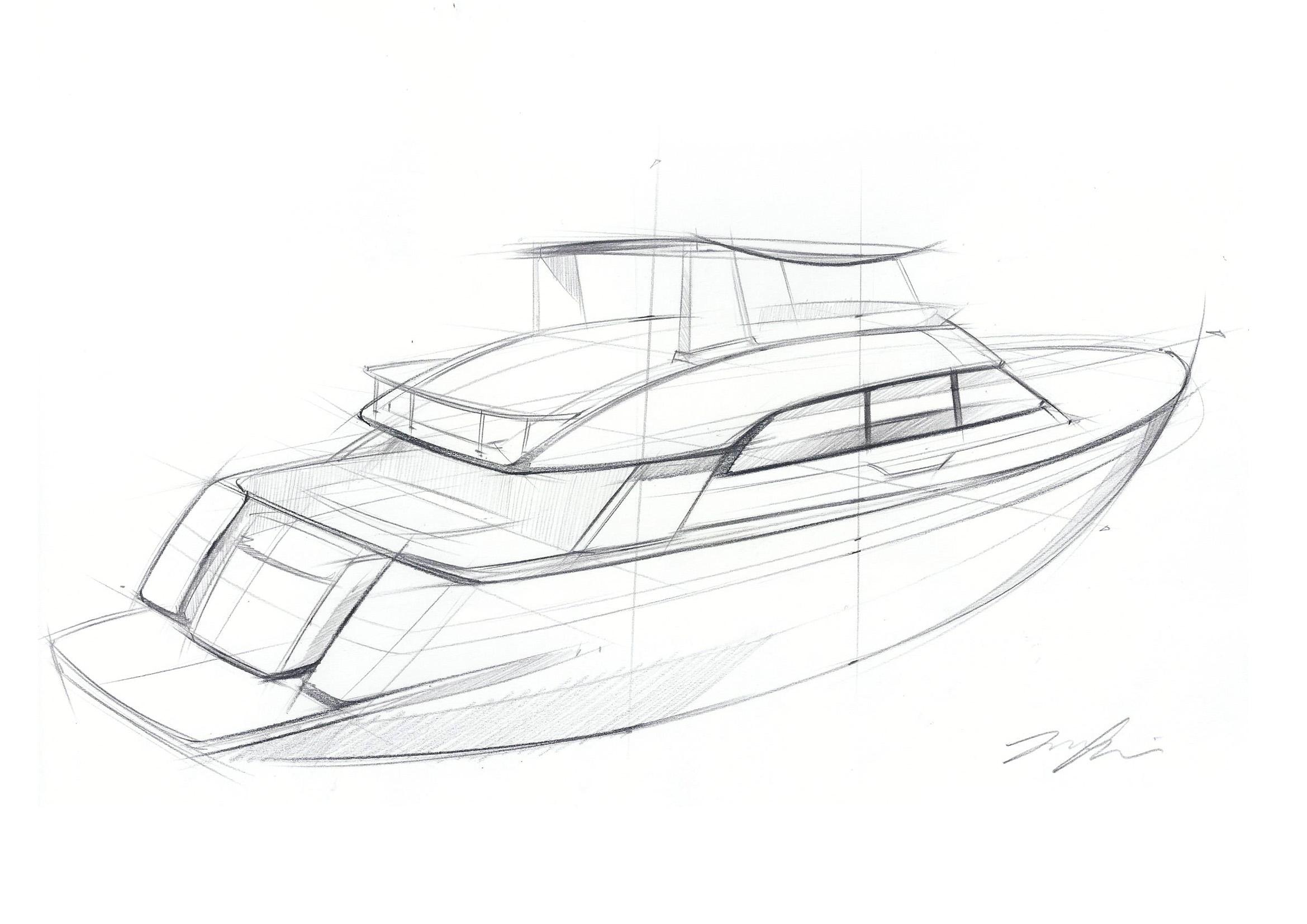 Sailboat Drawing Sketch At Getdrawings