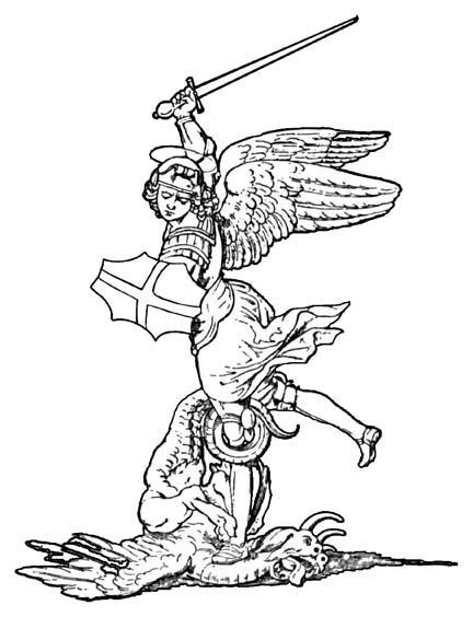 St Michael Tattoo Drawings