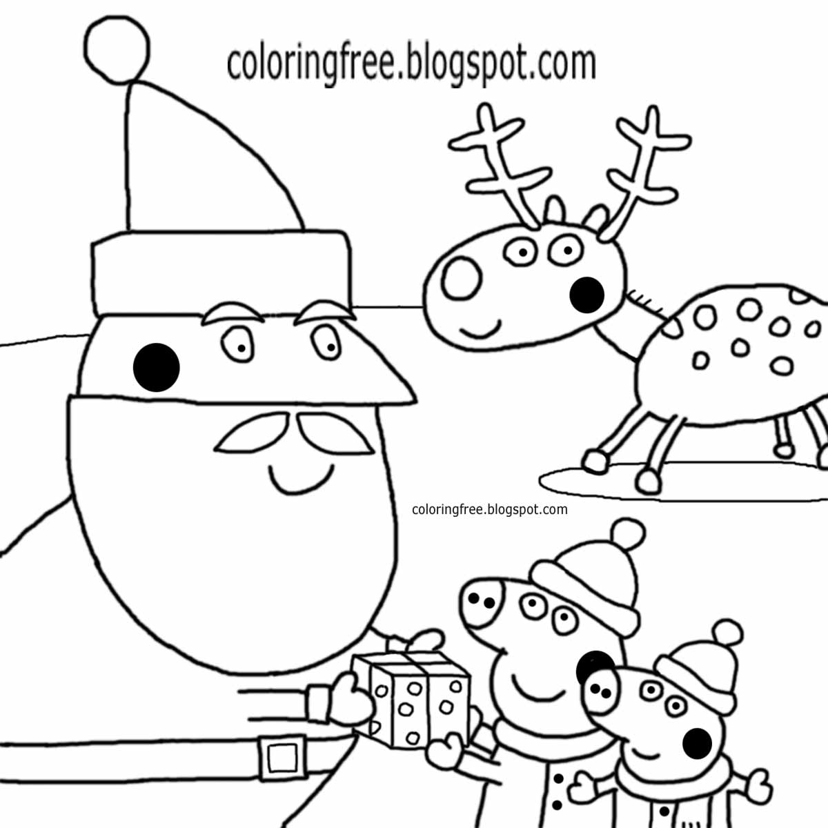 Pages Mrs Printable And Santa Coloring Claus