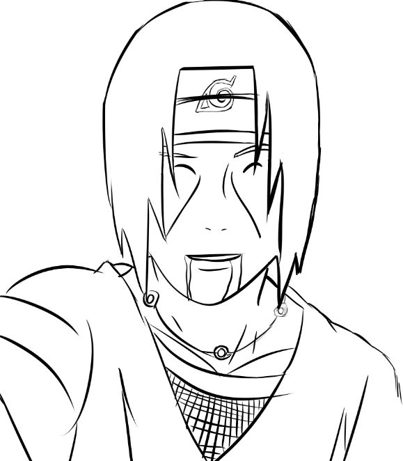 Kakashi Drawing Easy At Getdrawings Com