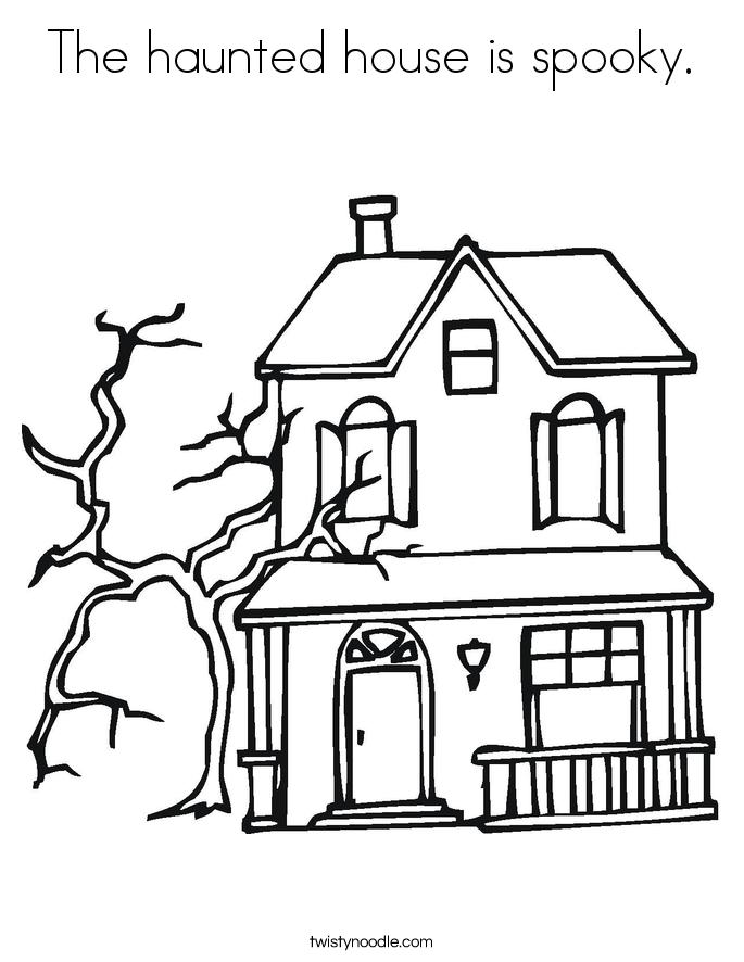 Spooky House Drawing : spooky, house, drawing, Scary, House, Drawing, GetDrawings, Download
