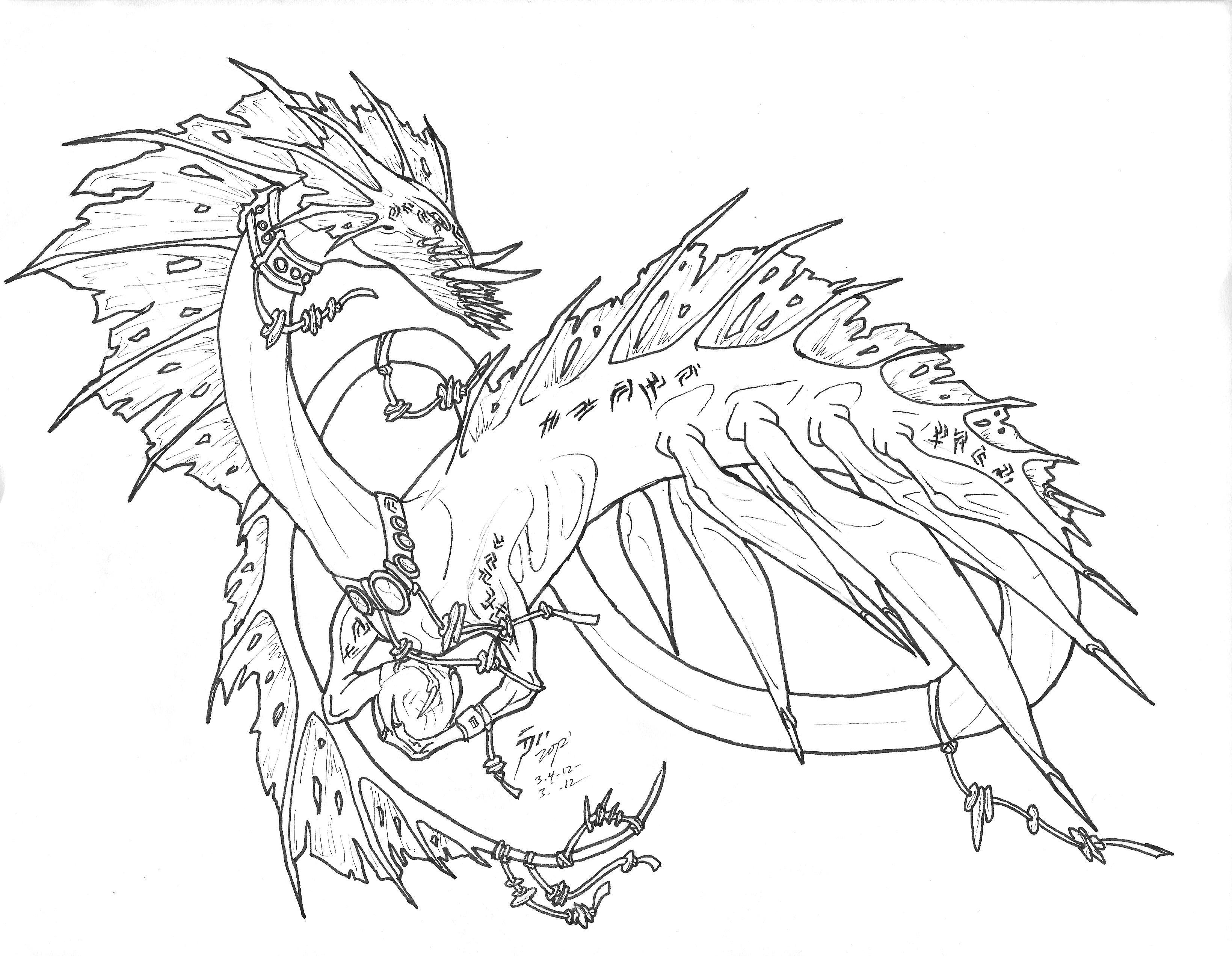 Sea Serpent Drawing At Getdrawings