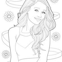 Selena Gomez Drawing Step By Step at GetDrawings.com
