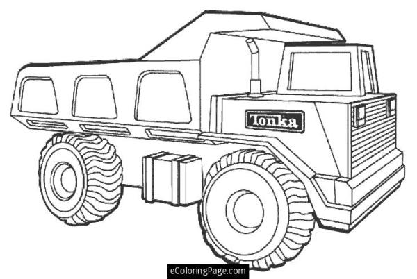 big truck coloring pages # 29