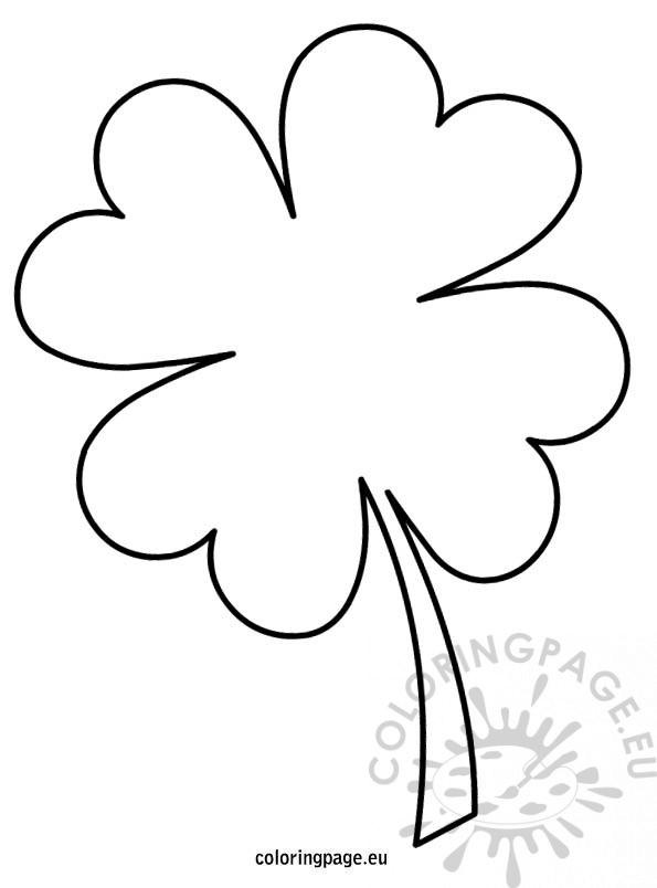shamrock drawing at getdrawings  free download