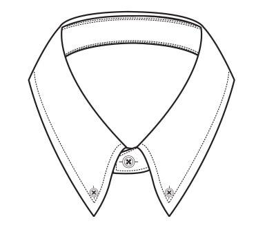 Drawn Shirt Collar