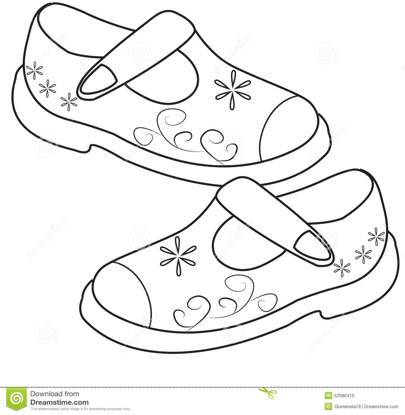 Shoe Drawing For Kids At Getdrawings