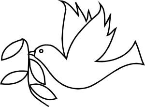 bird simple drawing line birds cartoon getdrawings