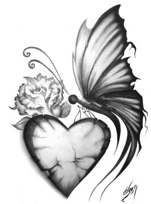butterfly simple drawing drawings pencil getdrawings
