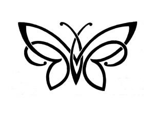 simple butterfly drawings butterflies drawing pencil getdrawings
