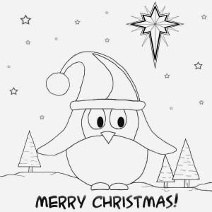 christmas simple drawing drawings cards fun