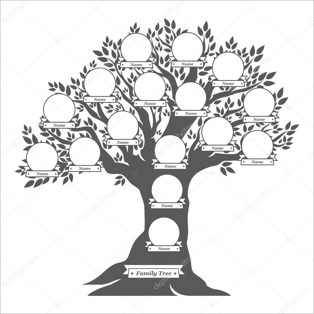 Simple Family Tree Drawing At Getdrawings
