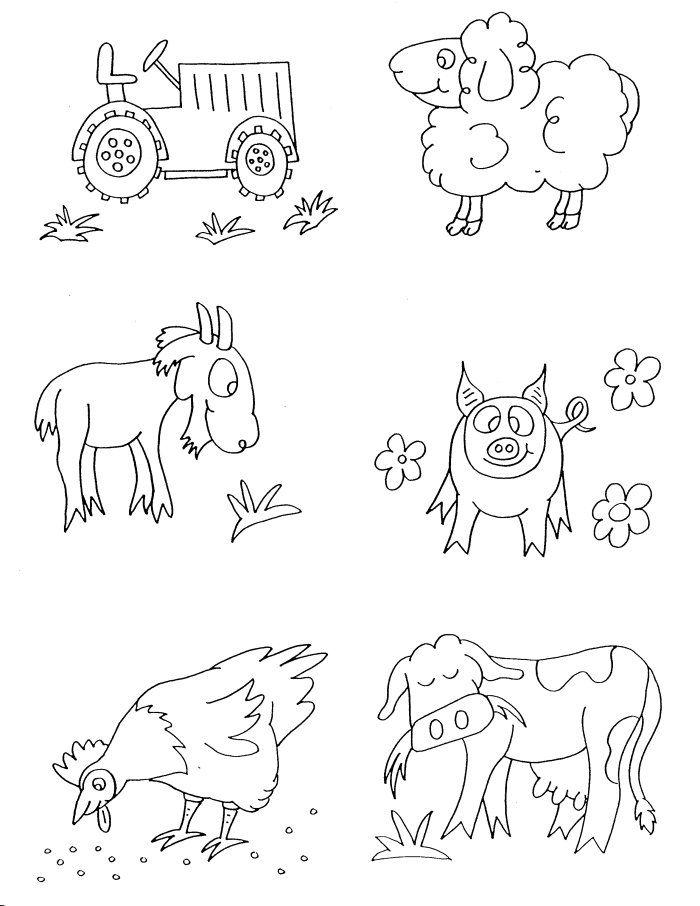 Simple Farm Drawing At Getdrawings Com