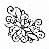 flower drawing simple drawings patterns designs getdrawings