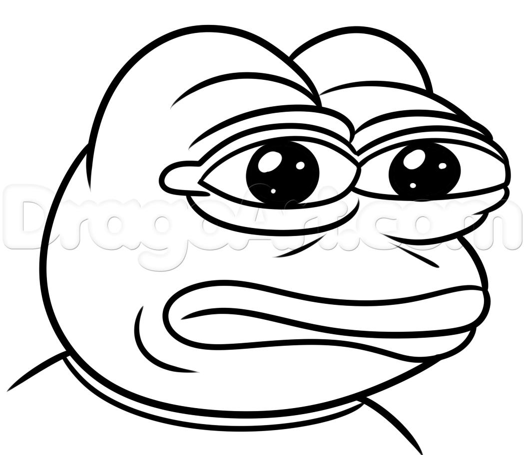 Simple Frog Drawing At Getdrawings