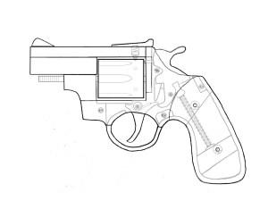drawing gun revolver guns improvised homemade 22lr simple diy global project wiring diagram impro firearm cylinder tug boats hand getdrawings