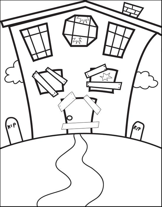 Simple Haunted House Drawing at GetDrawingscom Free for