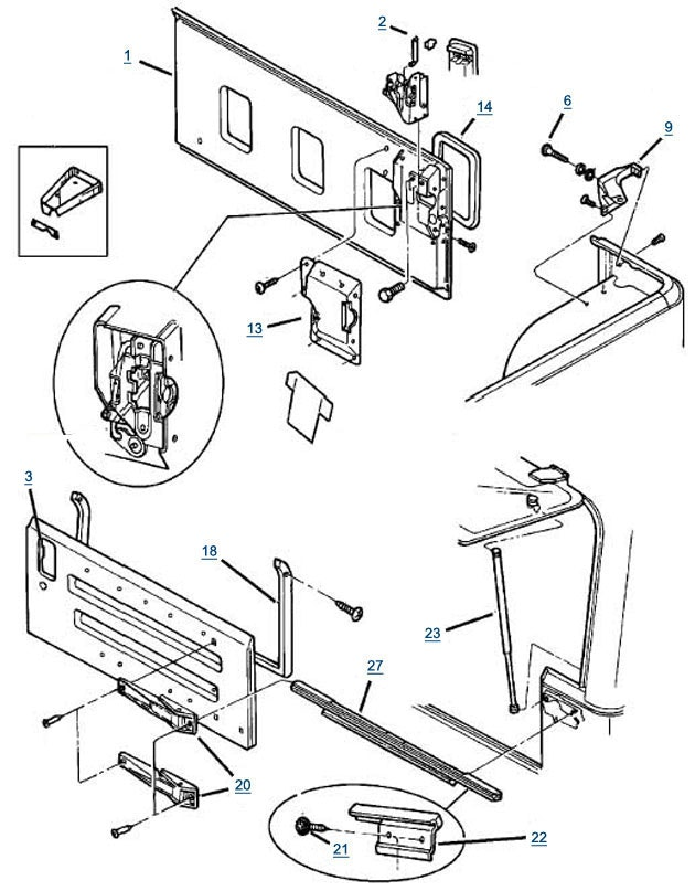 2007 jeep wrangler parts diagram 1995 dodge ram 1500 radio wiring simple drawing at getdrawings com free for personal use 630x807 smart snapshot also tj tailgate famreit