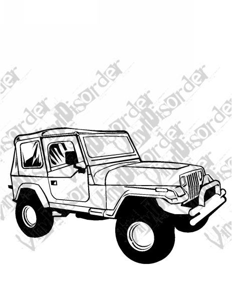 Easy Jeep Drawing : drawing, Simple, Drawing, GetDrawings, Download