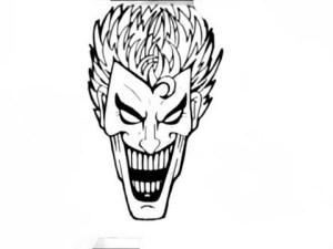 joker drawing simple draw graffiti face drawn getdrawings drawings pencil paintingvalley