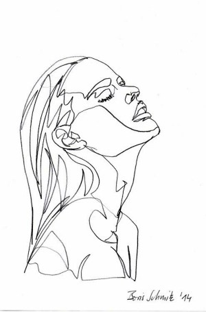 line drawing simple artists examples getdrawings