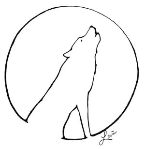 moon drawing simple easy ink getdrawings