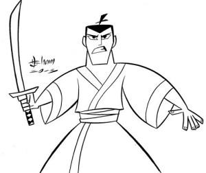 simple japanese samurai cartoon drawing drawings china medieval getdrawings soldier