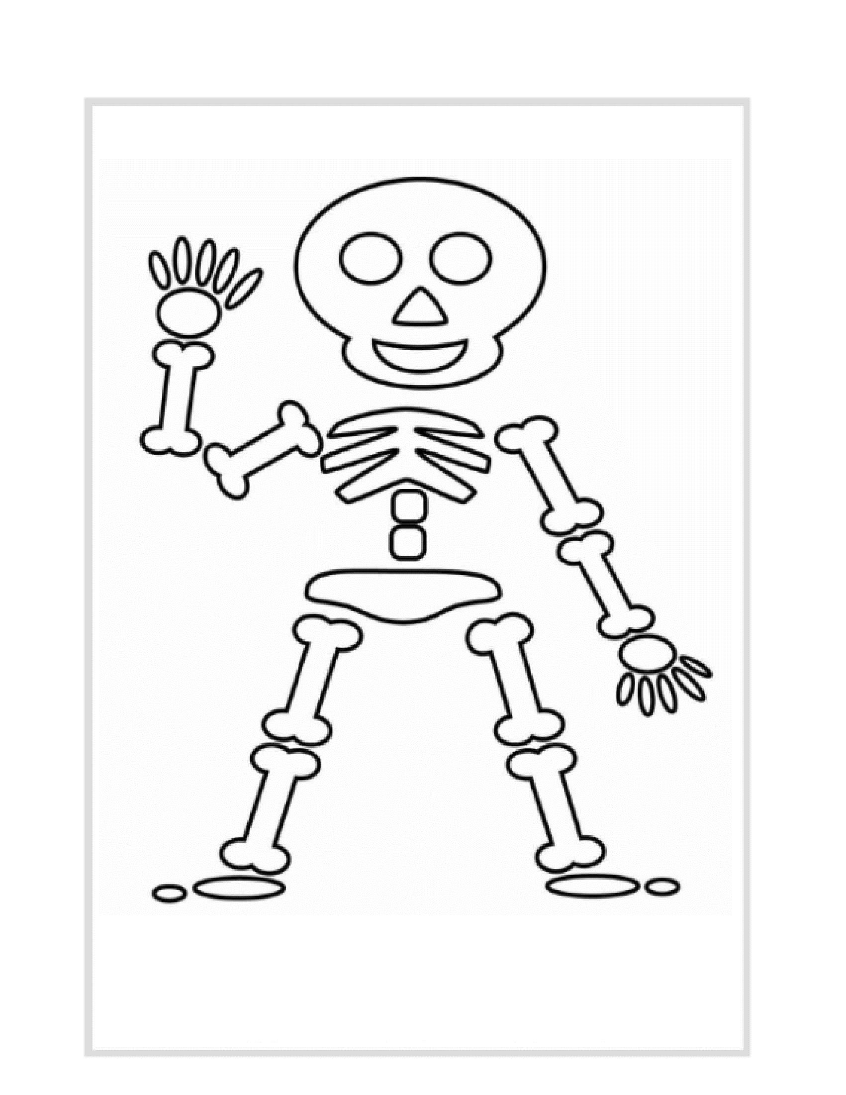 Simple Skeleton Drawing At Getdrawings
