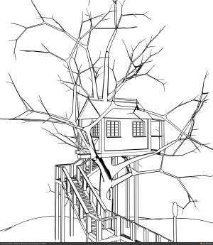 tree simple drawing drawings houses inspiration getdrawings plans plan