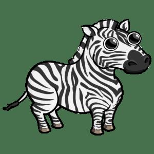 zebra drawing simple getdrawings clip