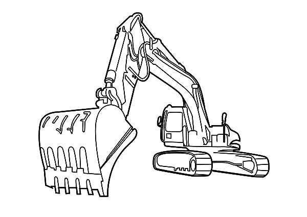 The best free Excavator drawing images. Download from 103