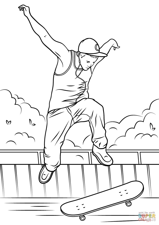 Skateboard Drawing At Getdrawings