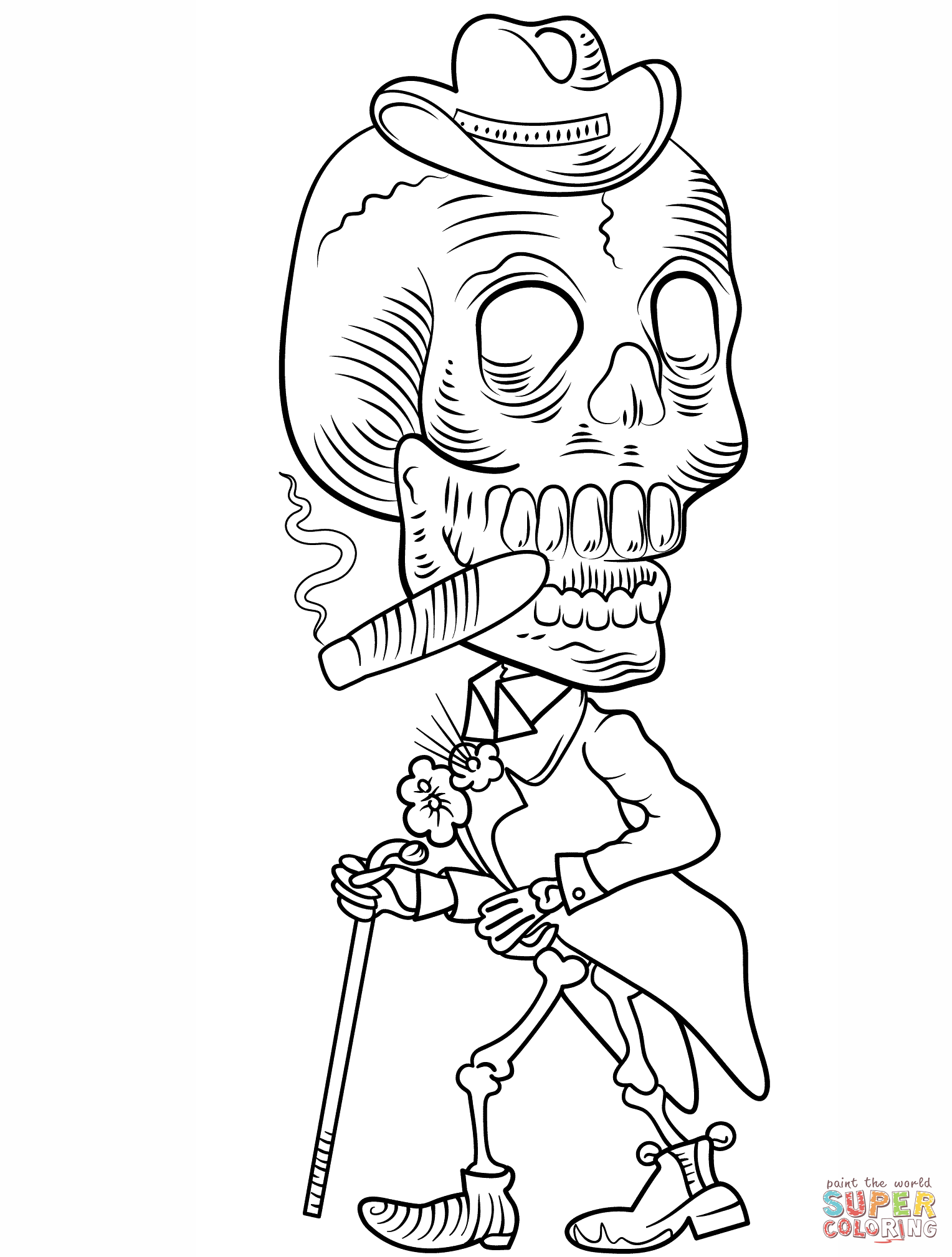 Skeleton Body Drawing At Getdrawings