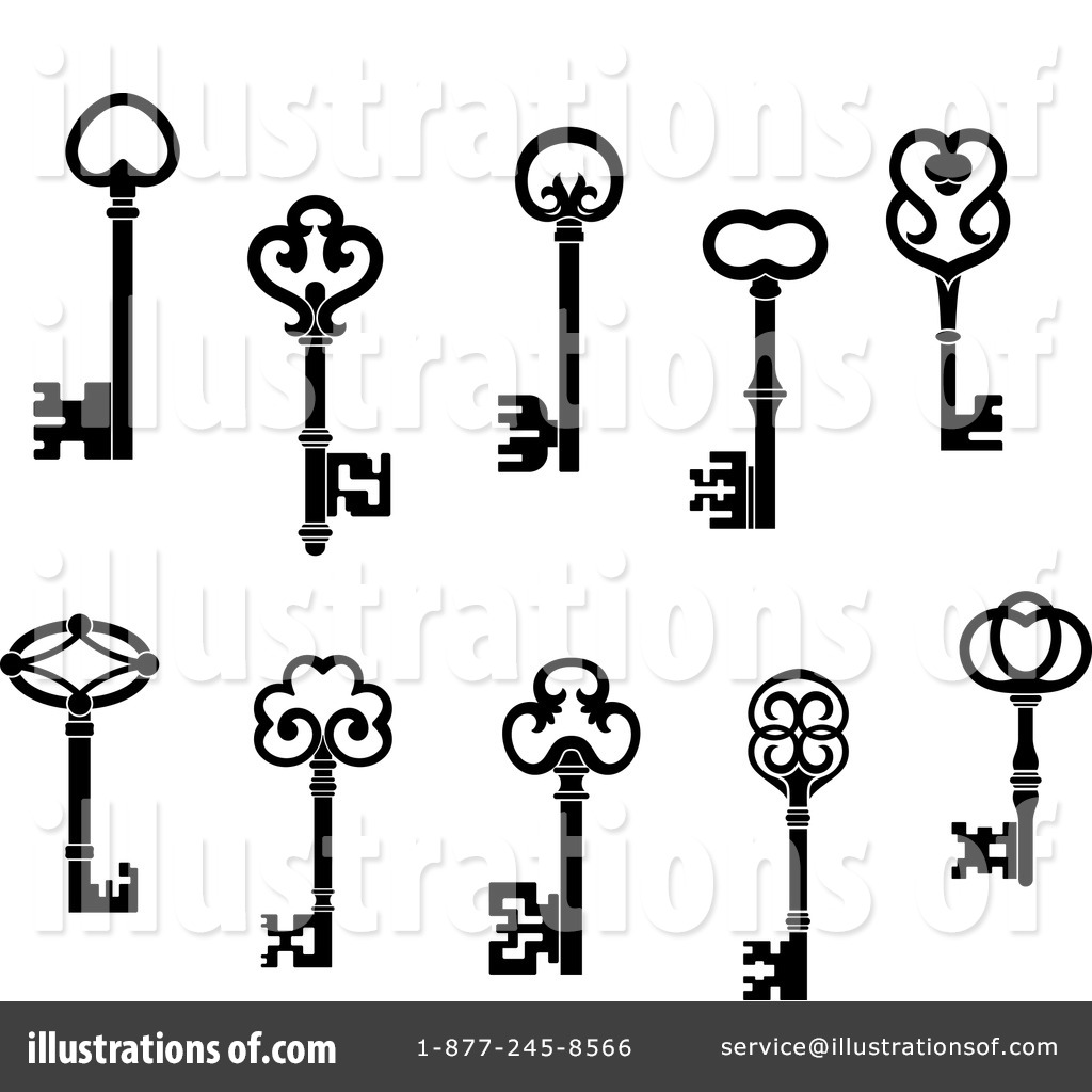 Skeleton Key Drawing At Getdrawings